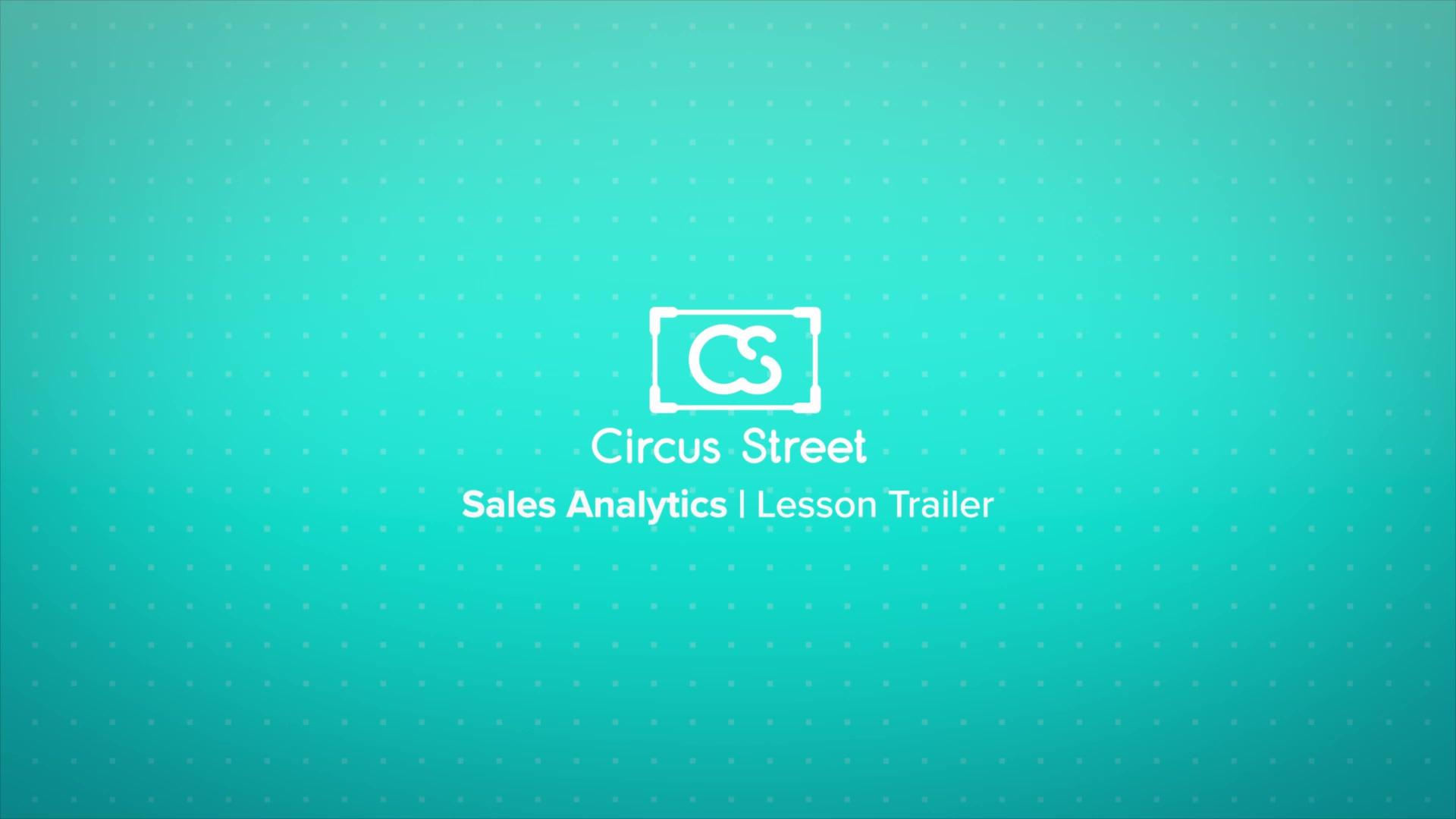 Sales Analytics Trailer