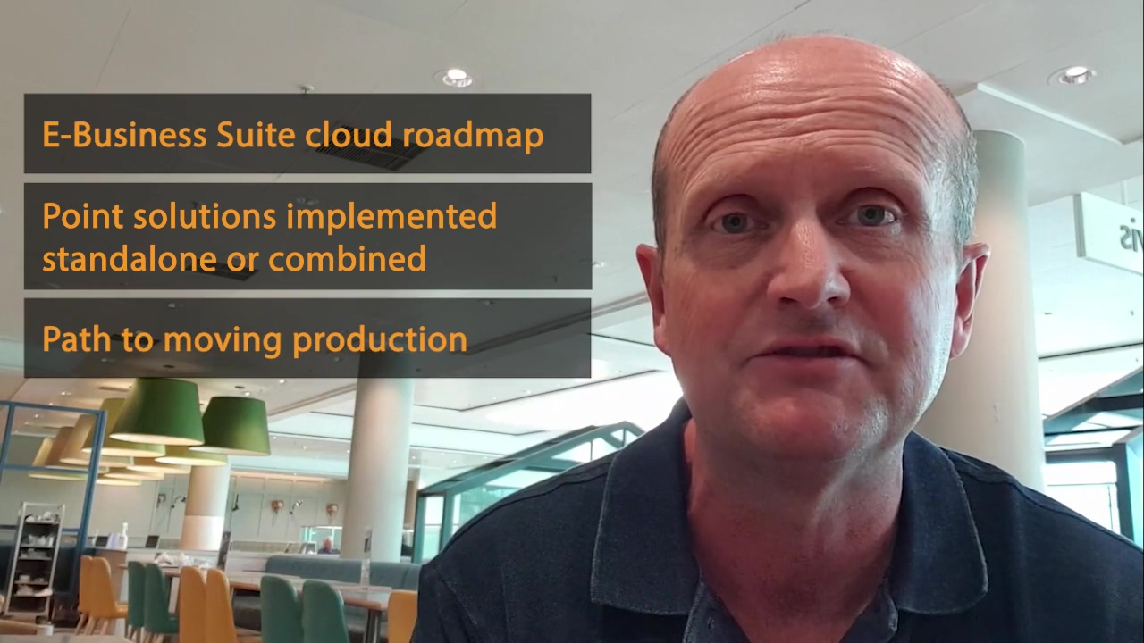 Video 1 - E-Business Suite Cloud Roadmap - 90 second intro-1