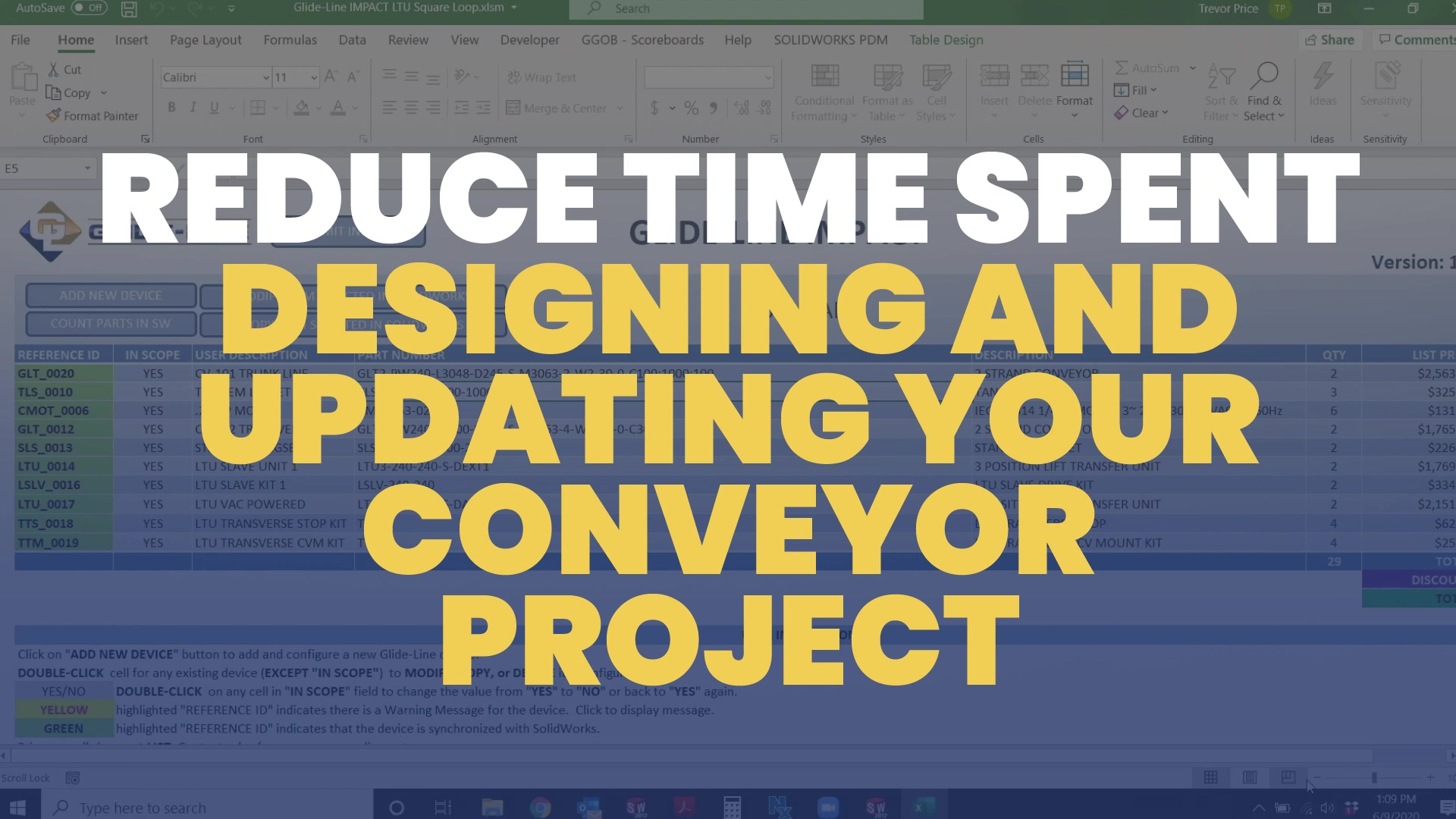 How To Reduce Time Spent Designing and Updating Your Conveyor Project