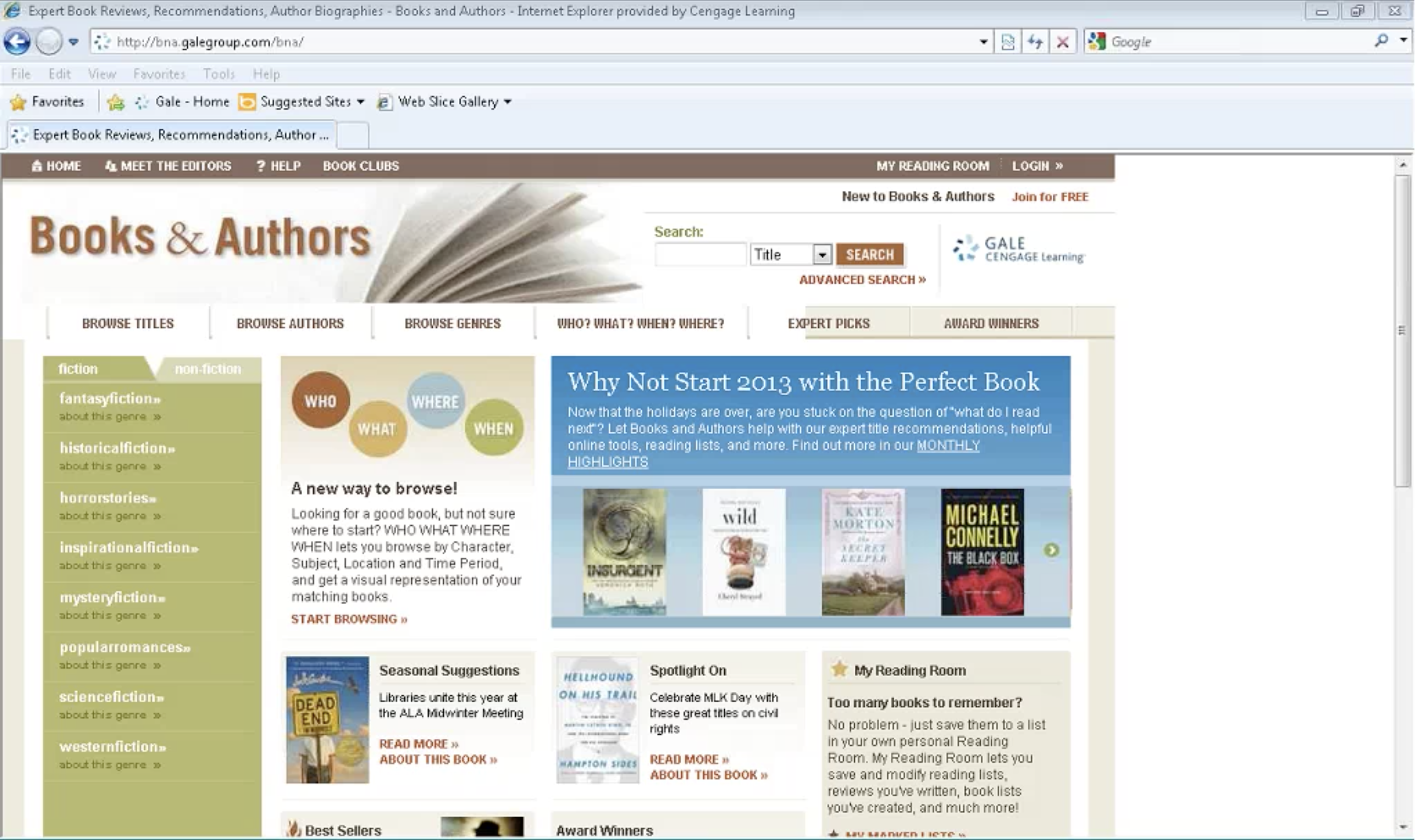 Books & Authors Webinar Thumbnail