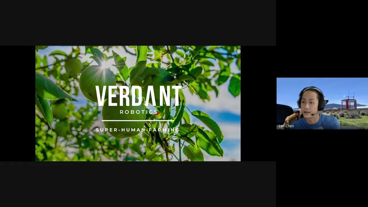 ROG Special Guest - Leo Chen + Lawrence Ibarria @ Verdant Robotics - 2021-04-20