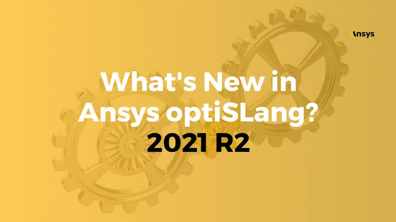 What's New in Ansys optiSLang