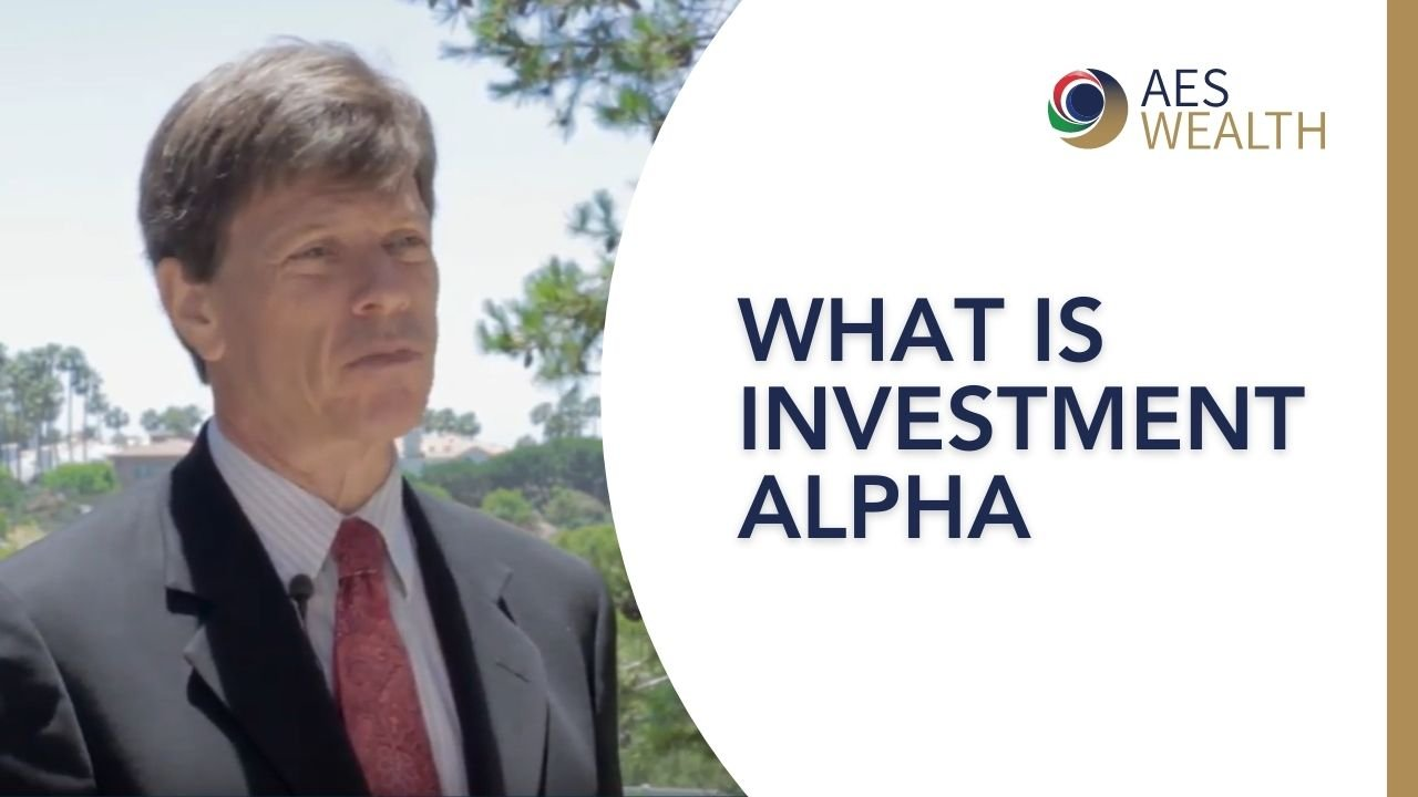 Adviser Vlog 57 What is investment alpha