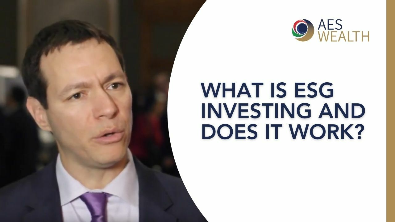 Adviser Vlog 62 What is ESG investing and does it work