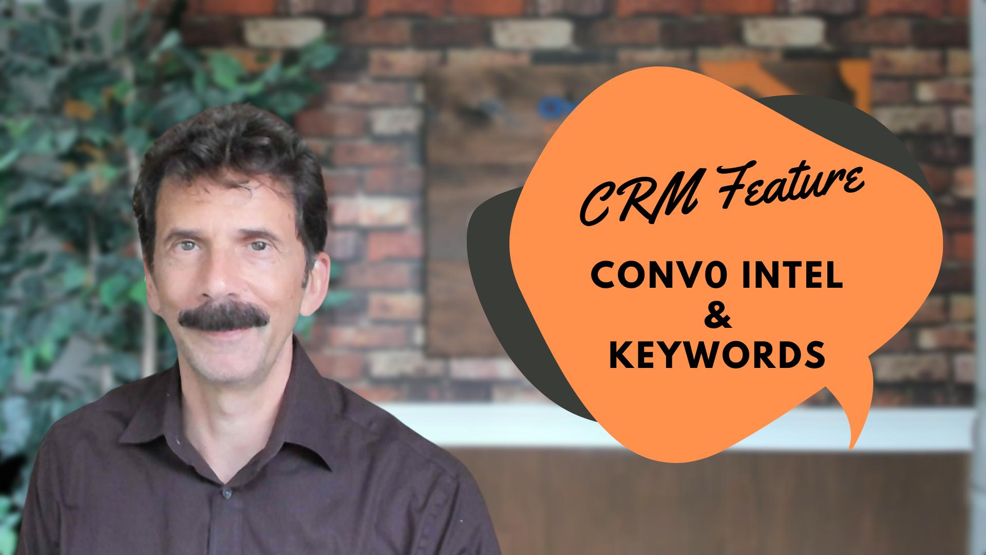 Convo Intell - keywords percent talk