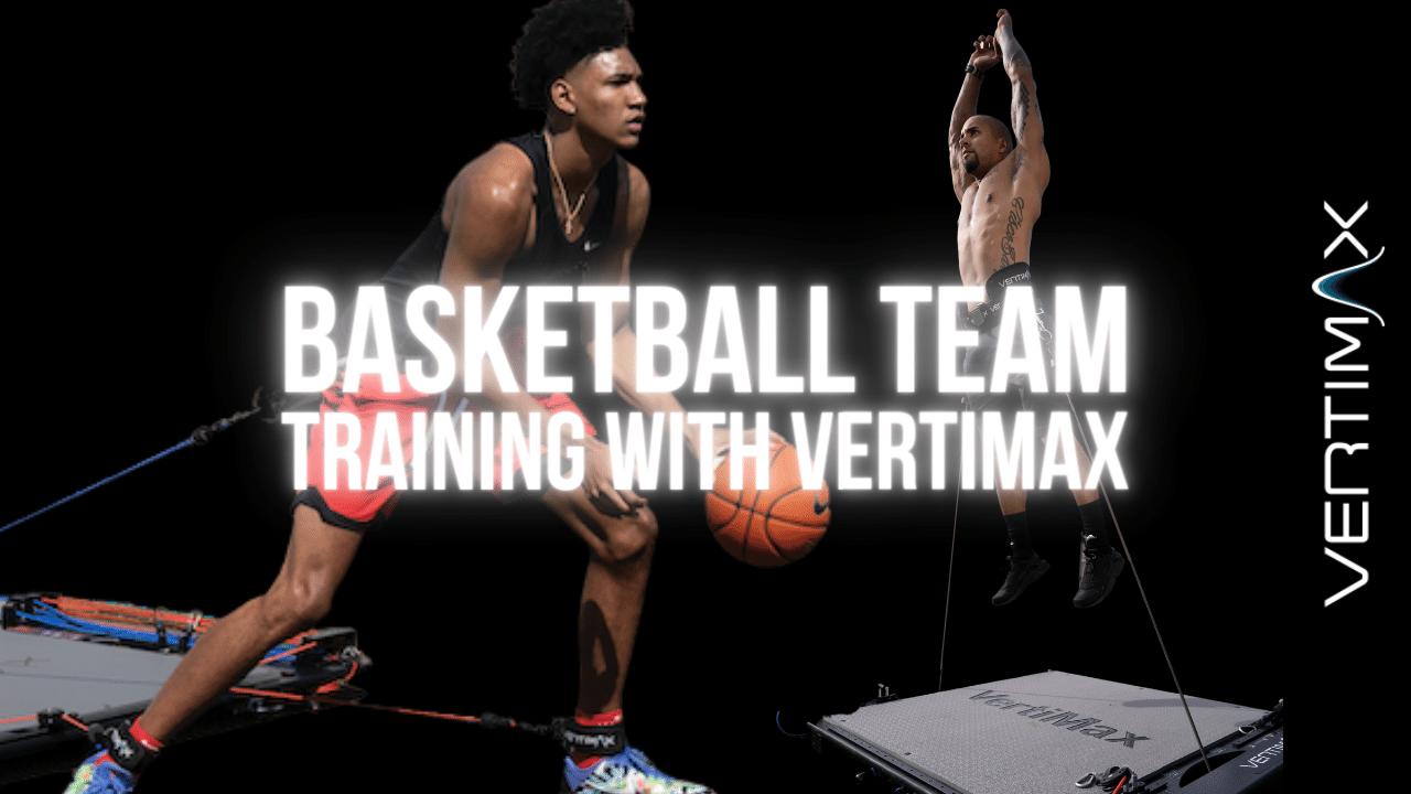 Basketball Team Training – 24 athletes & 2 VertiMax