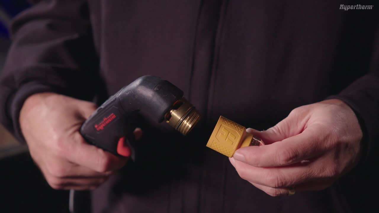 How to install Hypertherm cartridges for Powermax SYNC