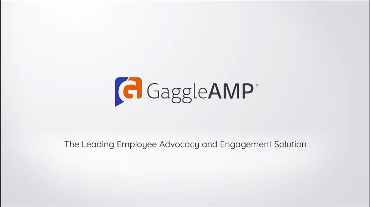 GaggleAMP GA2 Employee Advocacy Demo Video