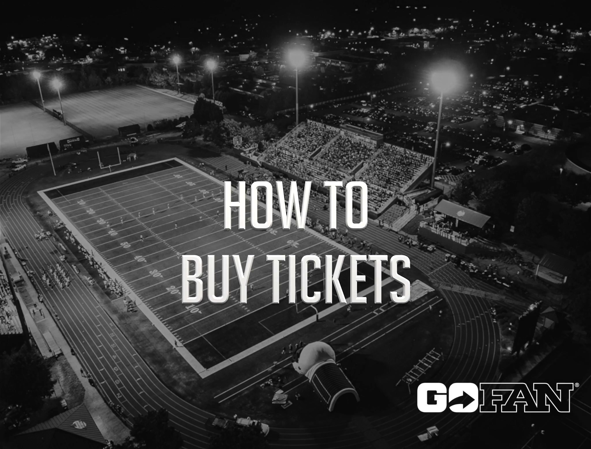 GoFan - How to Buy Tickets 090220
