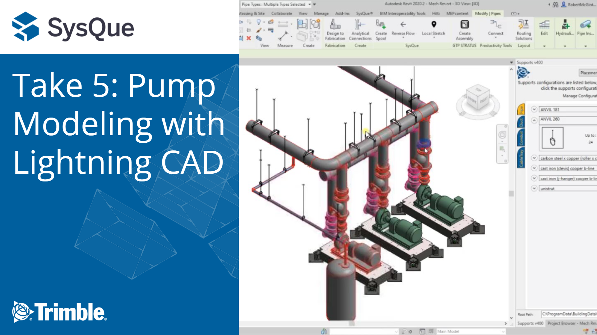 SysQue Take 5: Pump Modeling with Lightning CAD