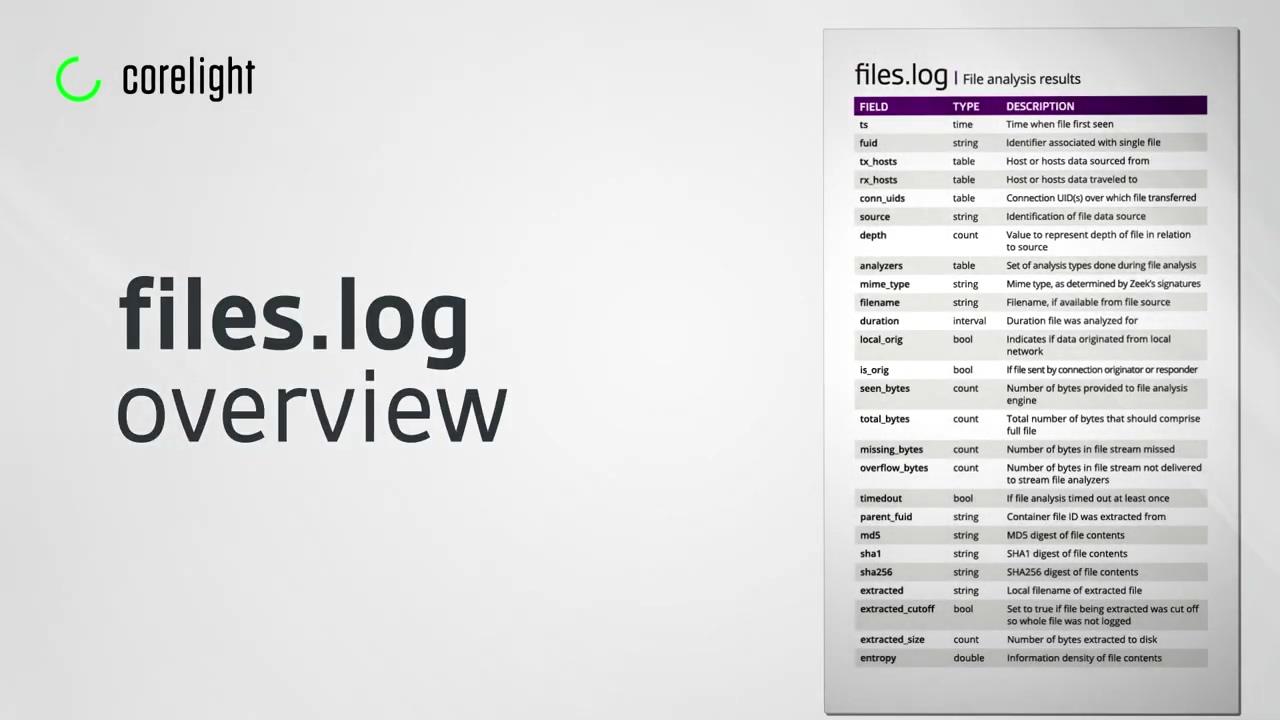 vid-zeek-files-log-overview