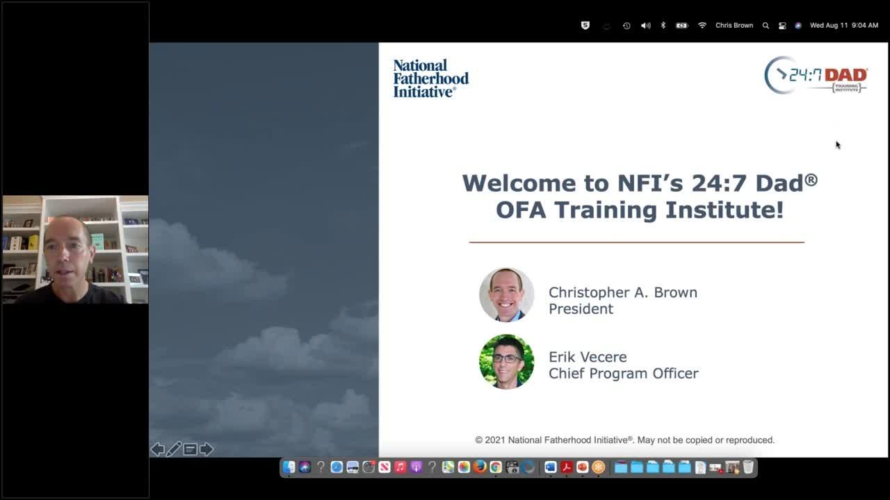 Webinar Training 24-7 Dad® Administration of Children & Families 08-11-21