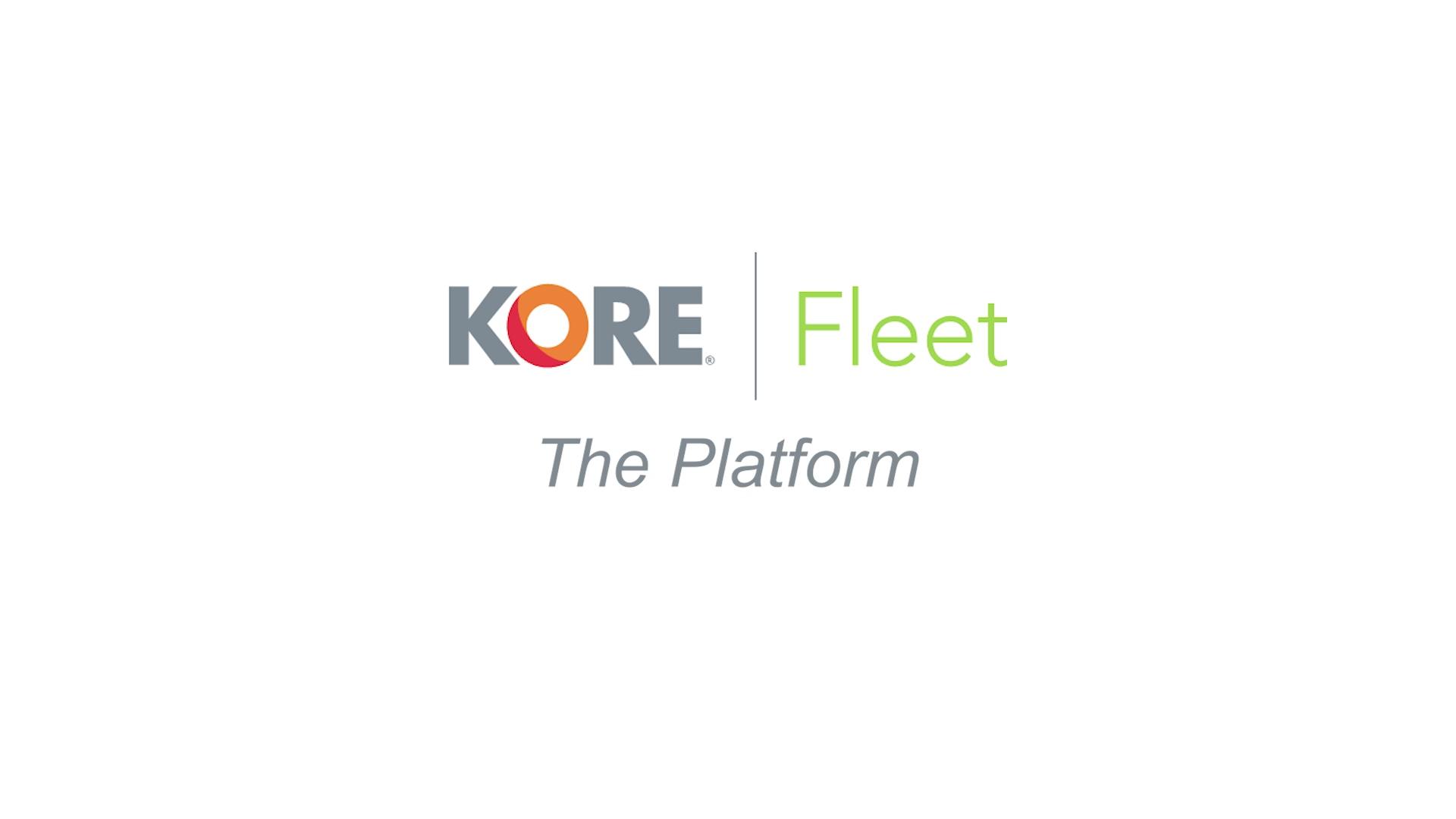 KORE Fleet - Position Logic Platform- Location Based Services Demo