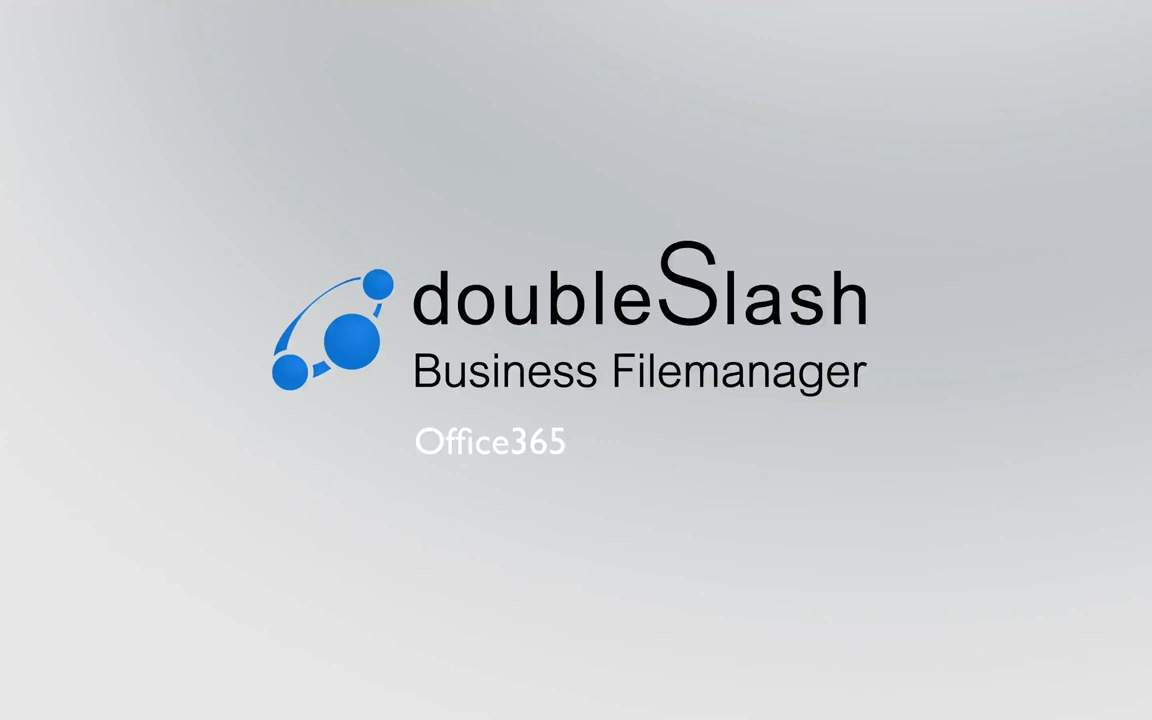 doubleSlash Business Filemanager Office 365