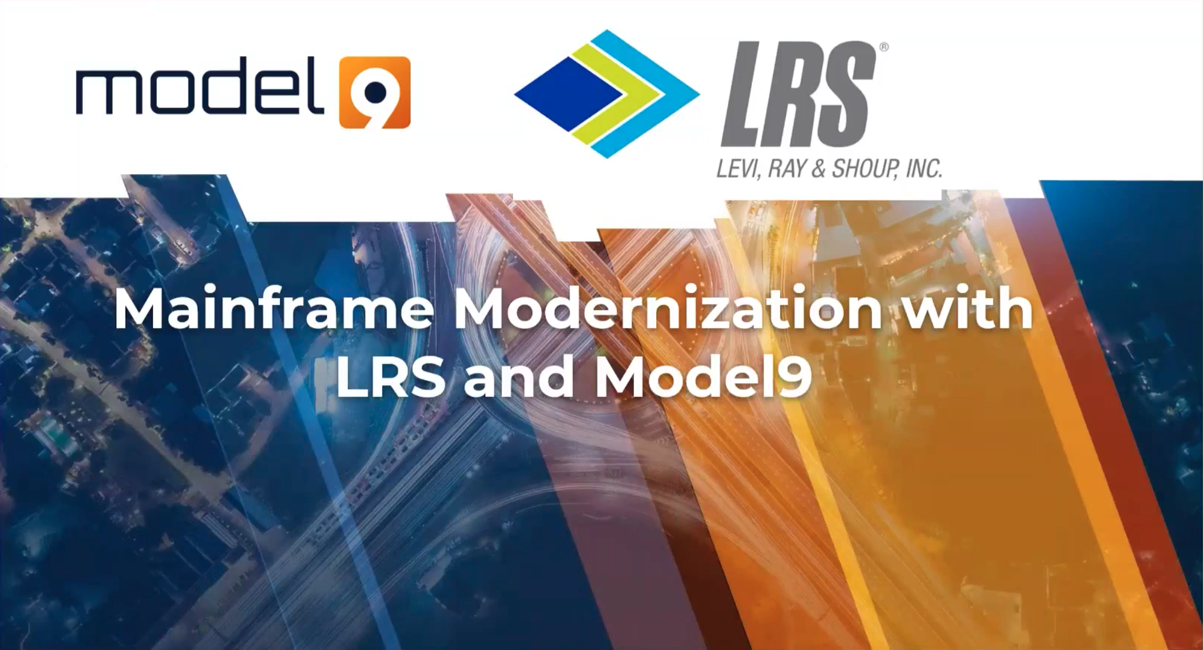 Mainframe Modernization with LRS and Model9