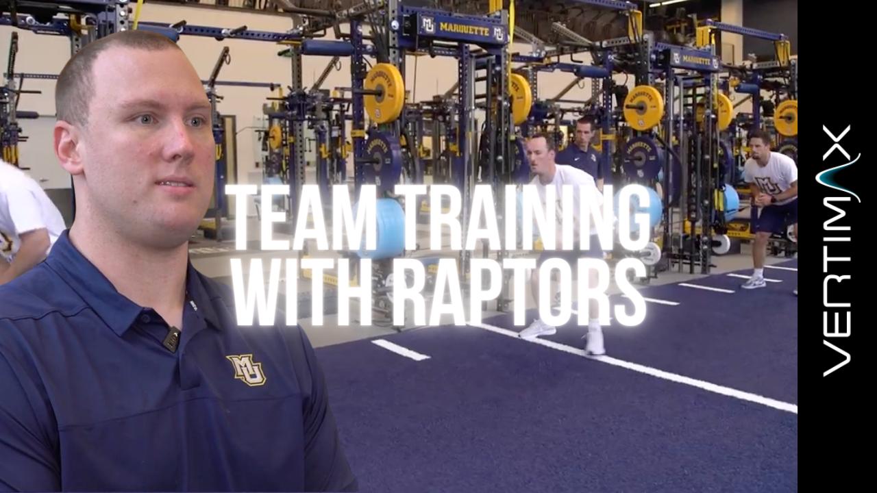 Team Training _ Increase Versatility With Raptors on Racks