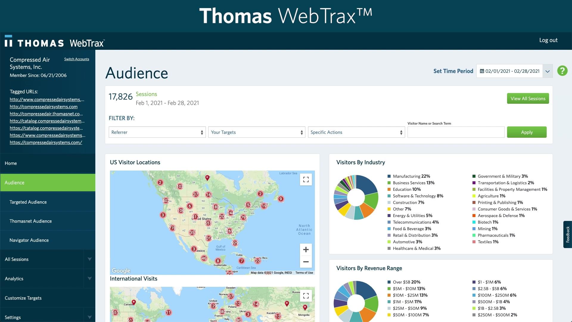 Thomas WebTrax How To