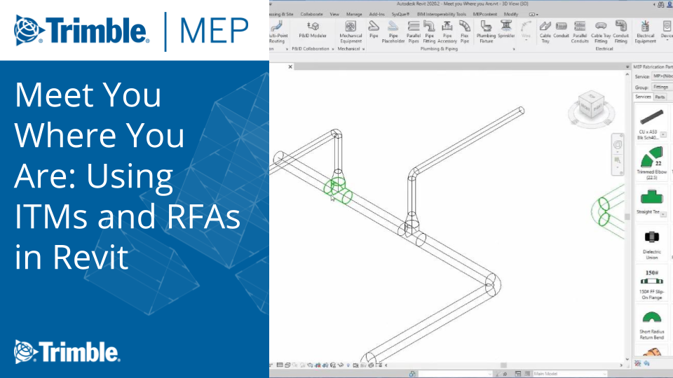 Meet You Where You Are: Using ITMs and RFAs in Revit