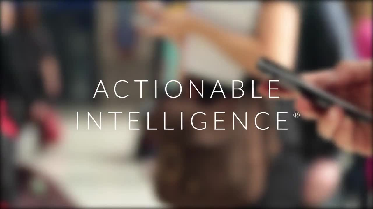 Verint: A Smarter World Through Actionable Intelligence