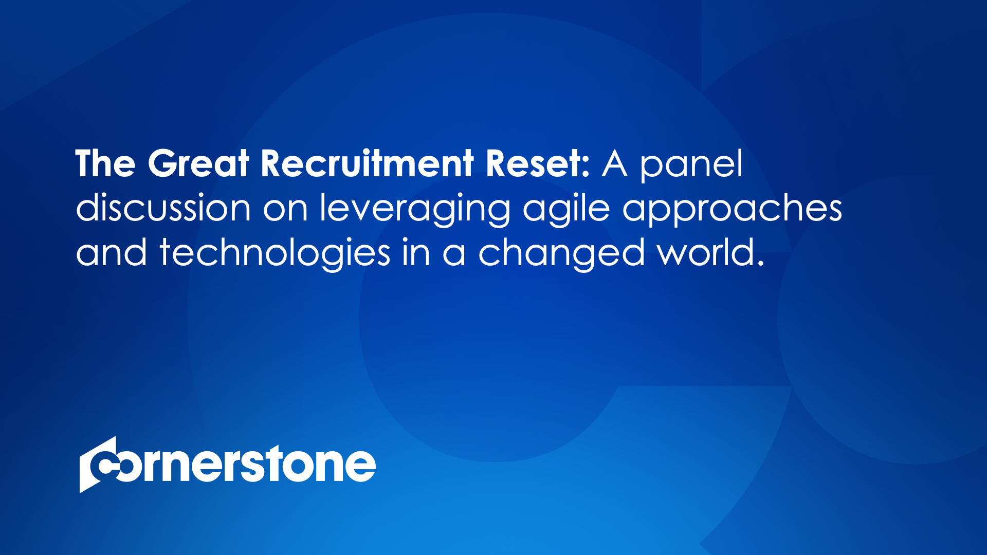 A discussion on leveraging agile approaches and technologies in a changed world