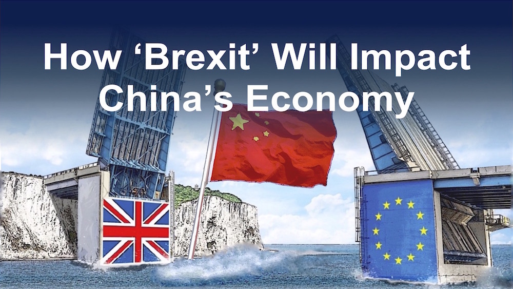 How 'Brexit' Will Impact China's Economy