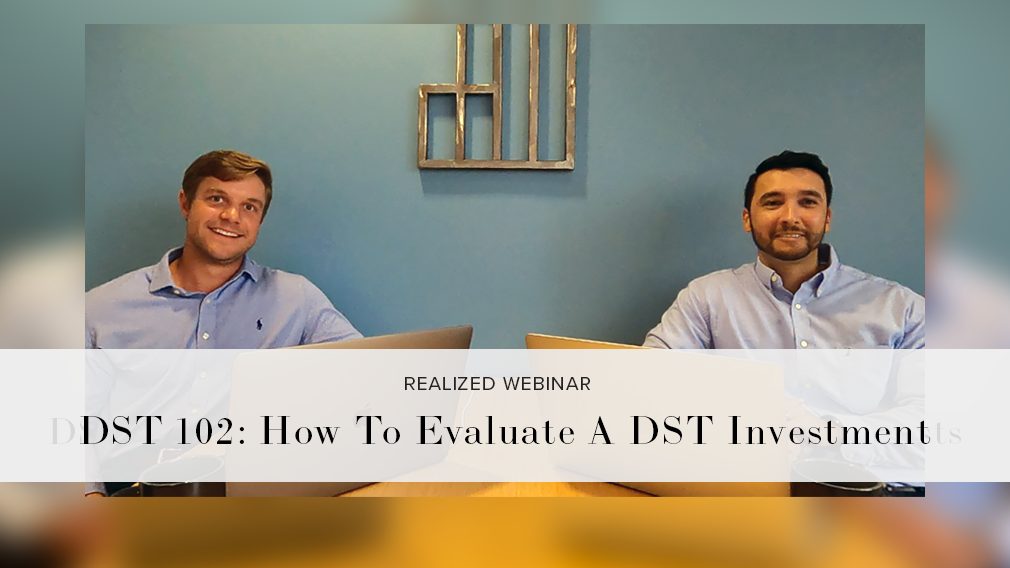 DST 102 How To Evaluate A DST Investment [w]