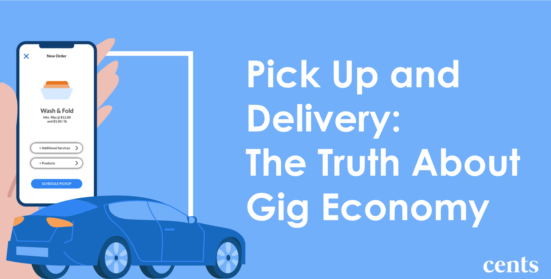 Pick Up and Delivery - The Truth About The Gig Economy