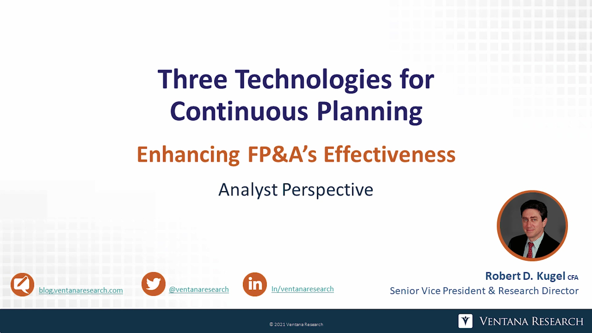 Video AP Three Technologies for Continuous Planning Rev-1