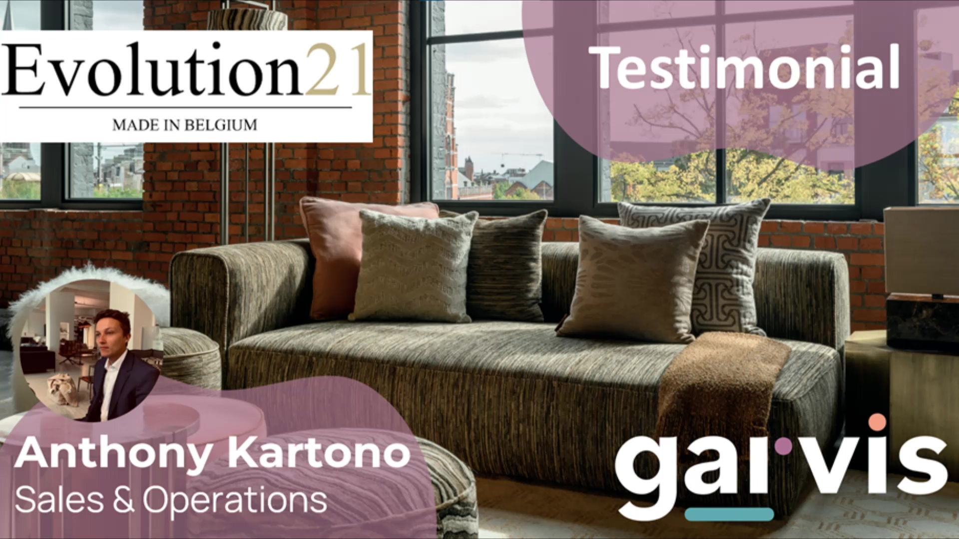 Testimonial - Evo21 - Anthony Kartono