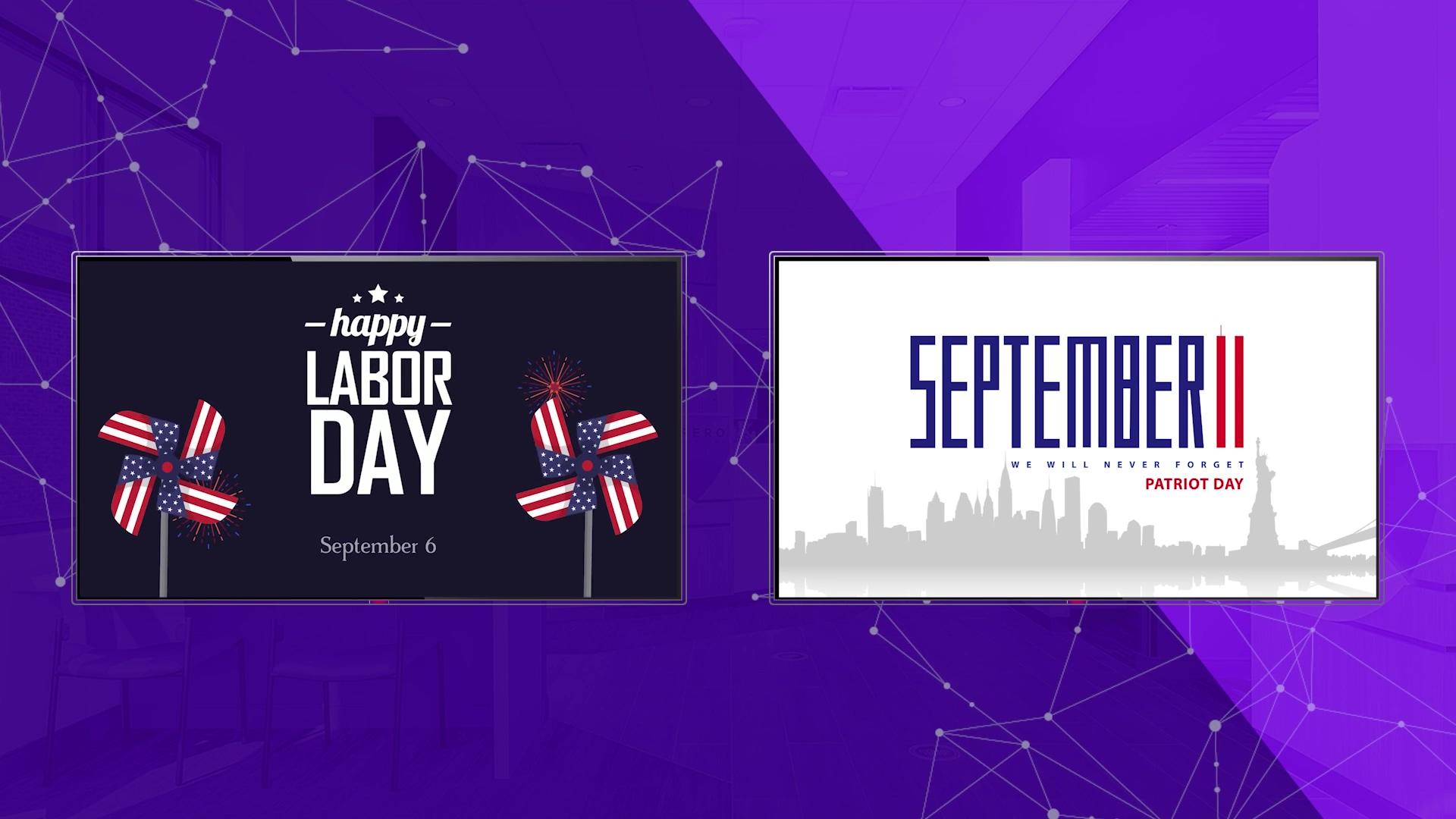 Free September Digital Signage Content