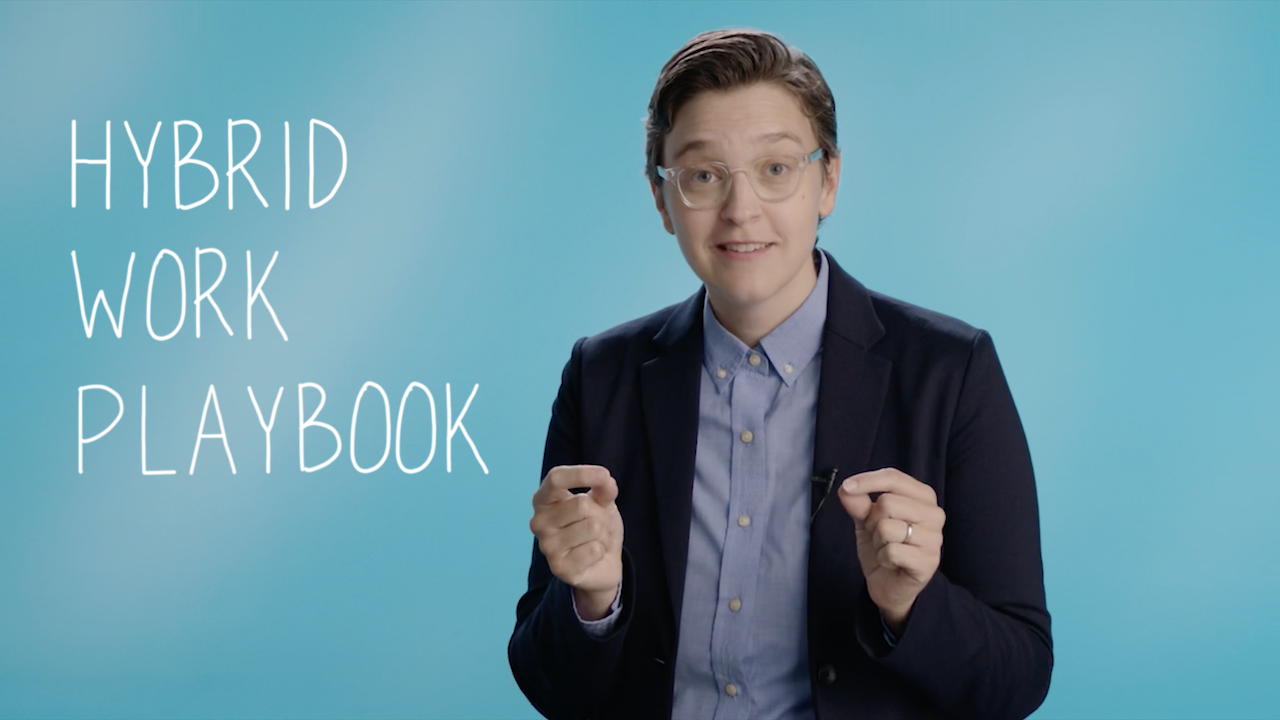 Hybrid Work Playbook promo