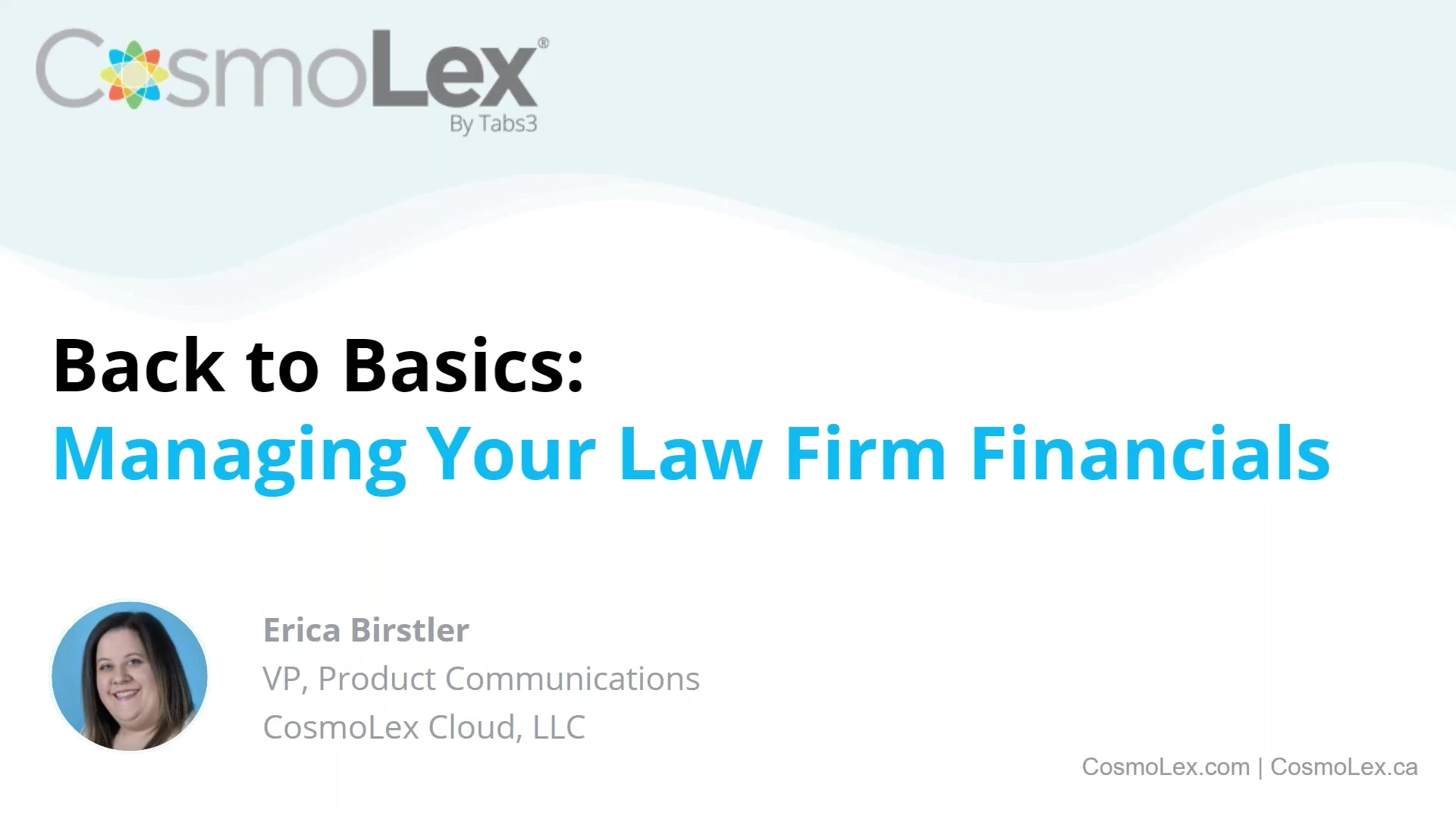 Back to Basics_ Managing Your Law Firm Financials