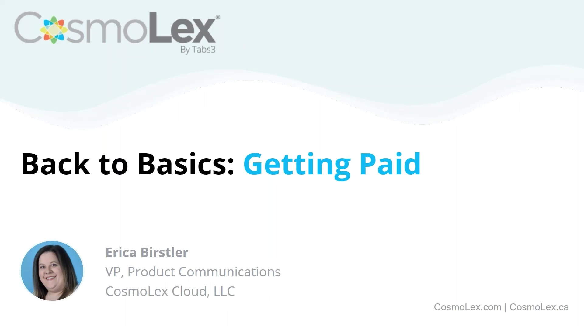 Back to Basics_ Getting Paid