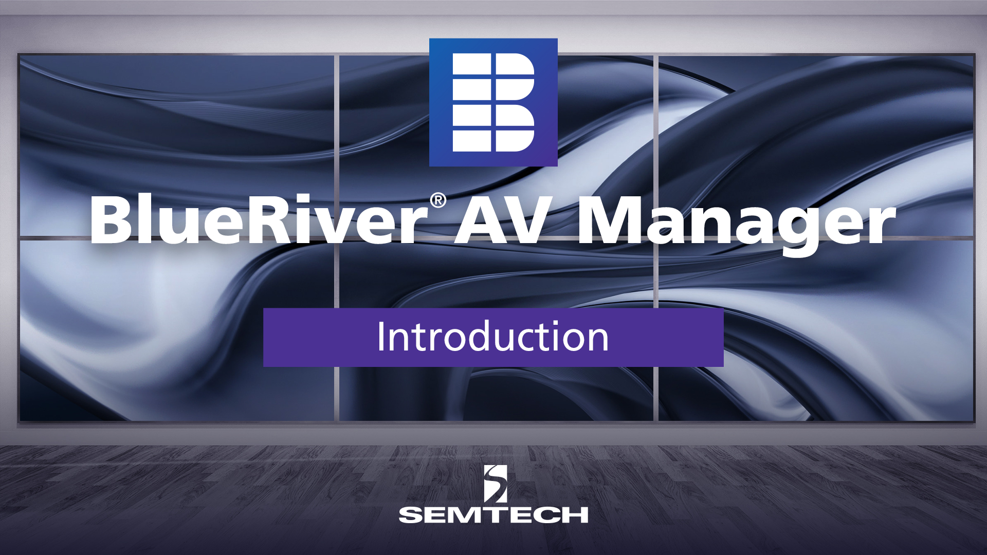 BlueRiver AV Manager Software Introduction Video