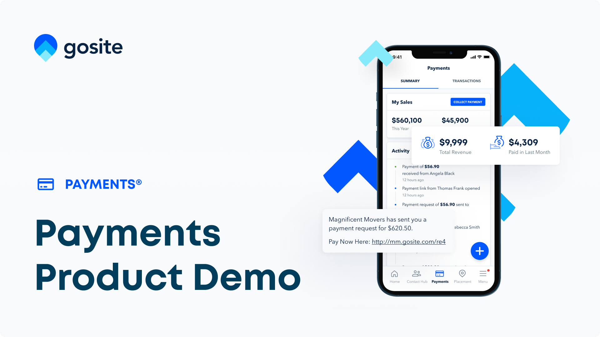 GoSite Product Demo_ Payments