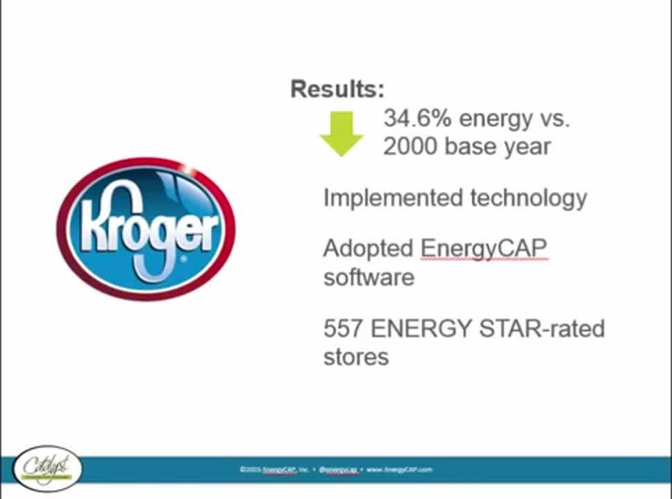 Krogers Energy Management Success