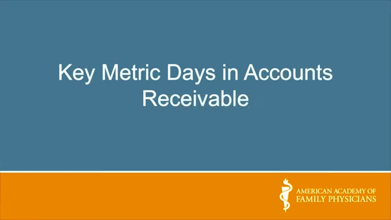 Evaluating Your Practice's Revenue Cycle: Days in Accounts Receivable Asia  Blunt, MBA, CPC Prac