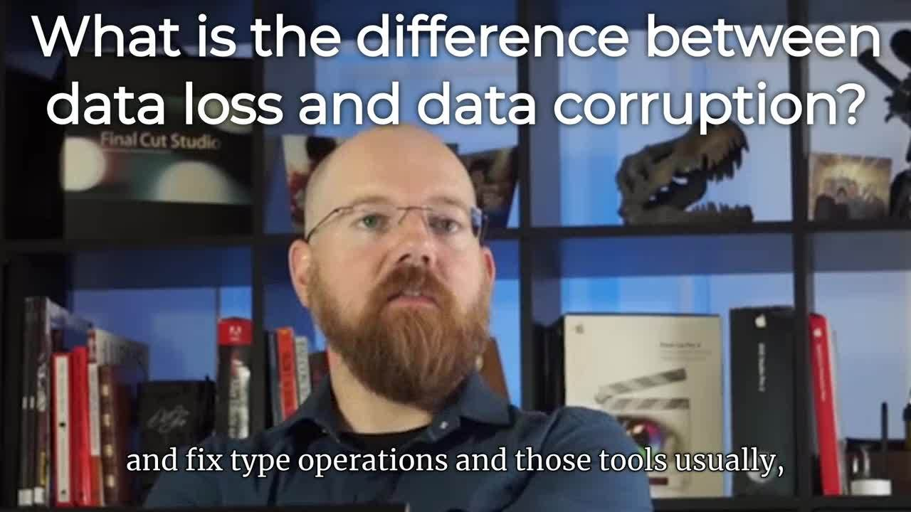 Brian - data loss vs corruption (long) (Captioned by Zubtitle)
