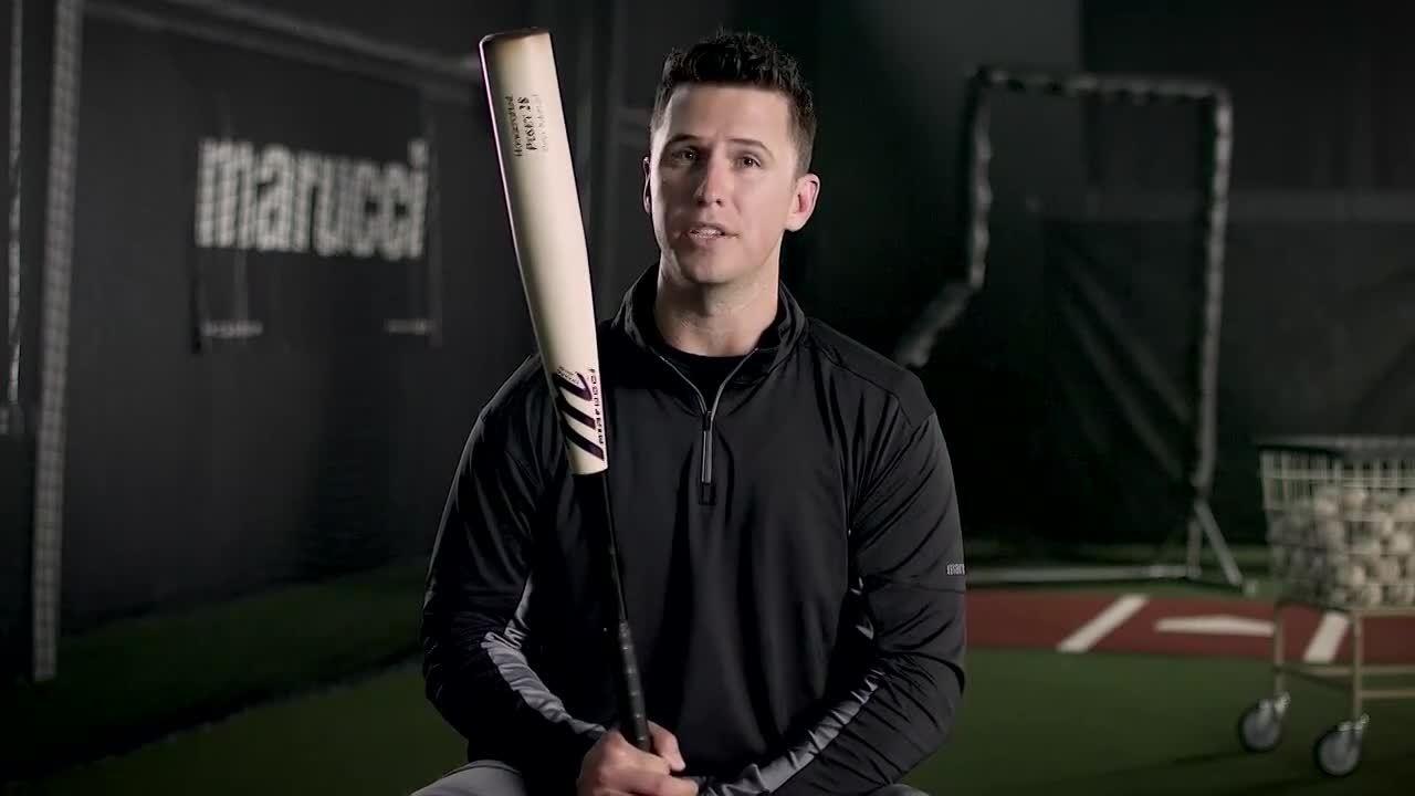 POSEY28 _ Buster Posey's Metal Baseball Bat