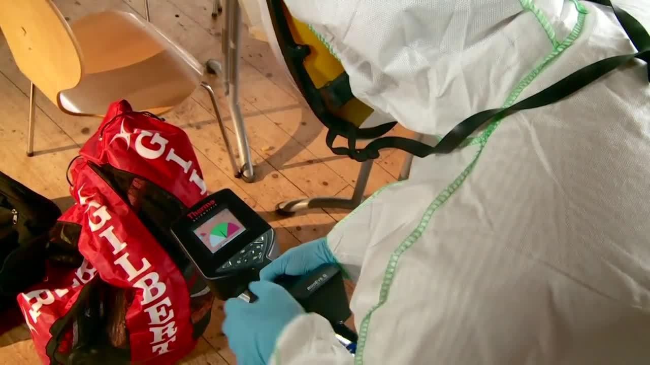 Argon RIIDEye Radiation Hazard Identification Simulator