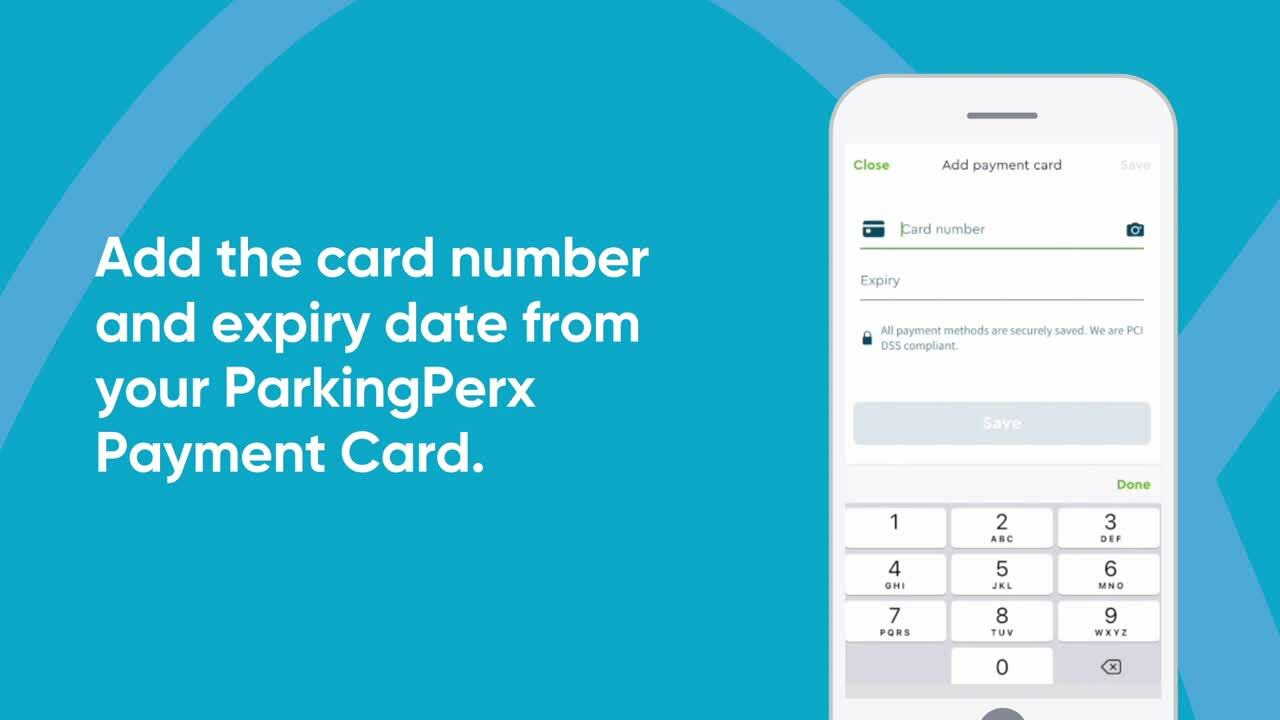How to add your ParkingPerx Payment Card to RingGo