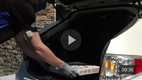 Domino's Carside Delivery B-Roll