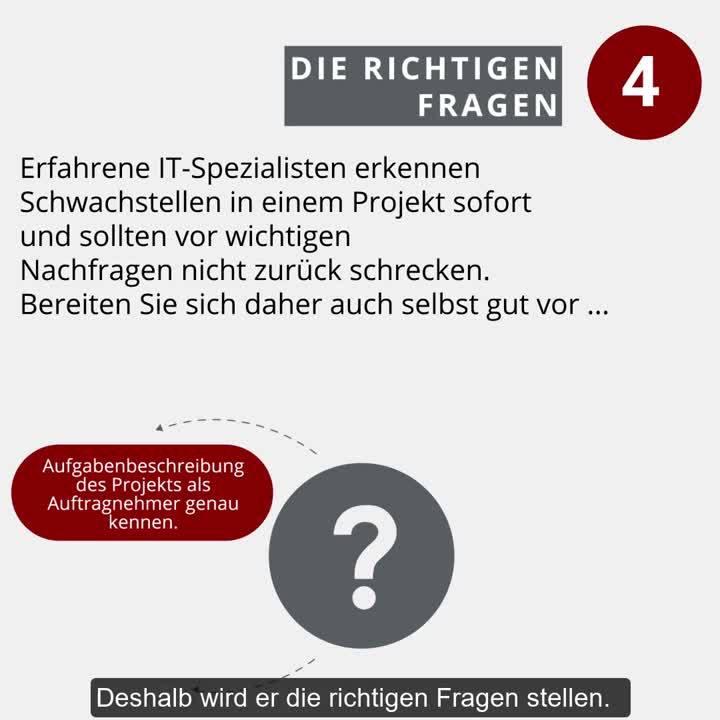 GULP Schnellcheck Freelancer mit Untertitel