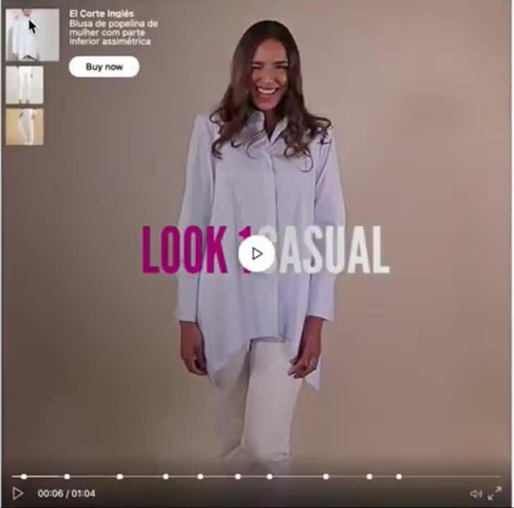 Shoppable Video Ad- El Corte