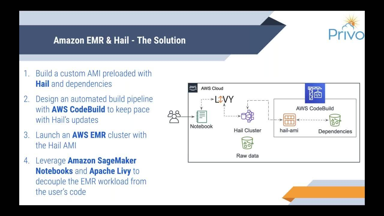 Scaling up Genome Analysis with AWS EMR and Hail
