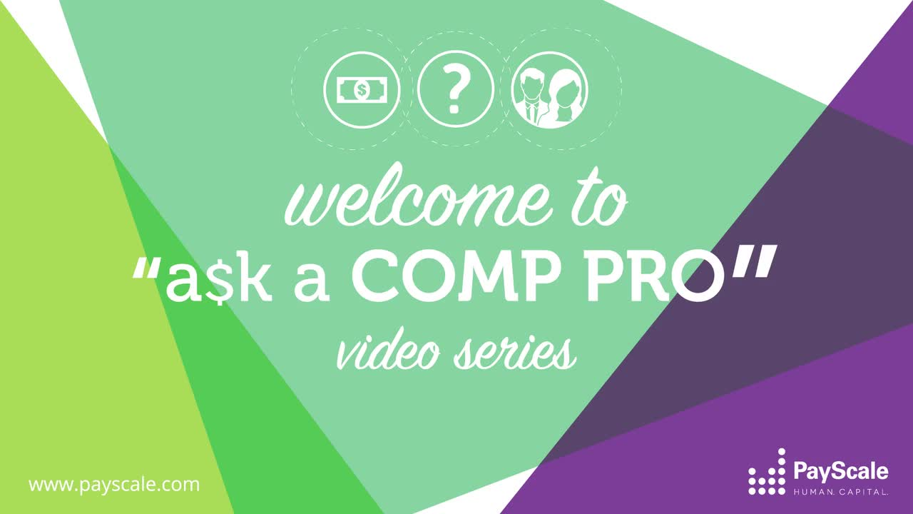 Ask a Comp Pro - The Series