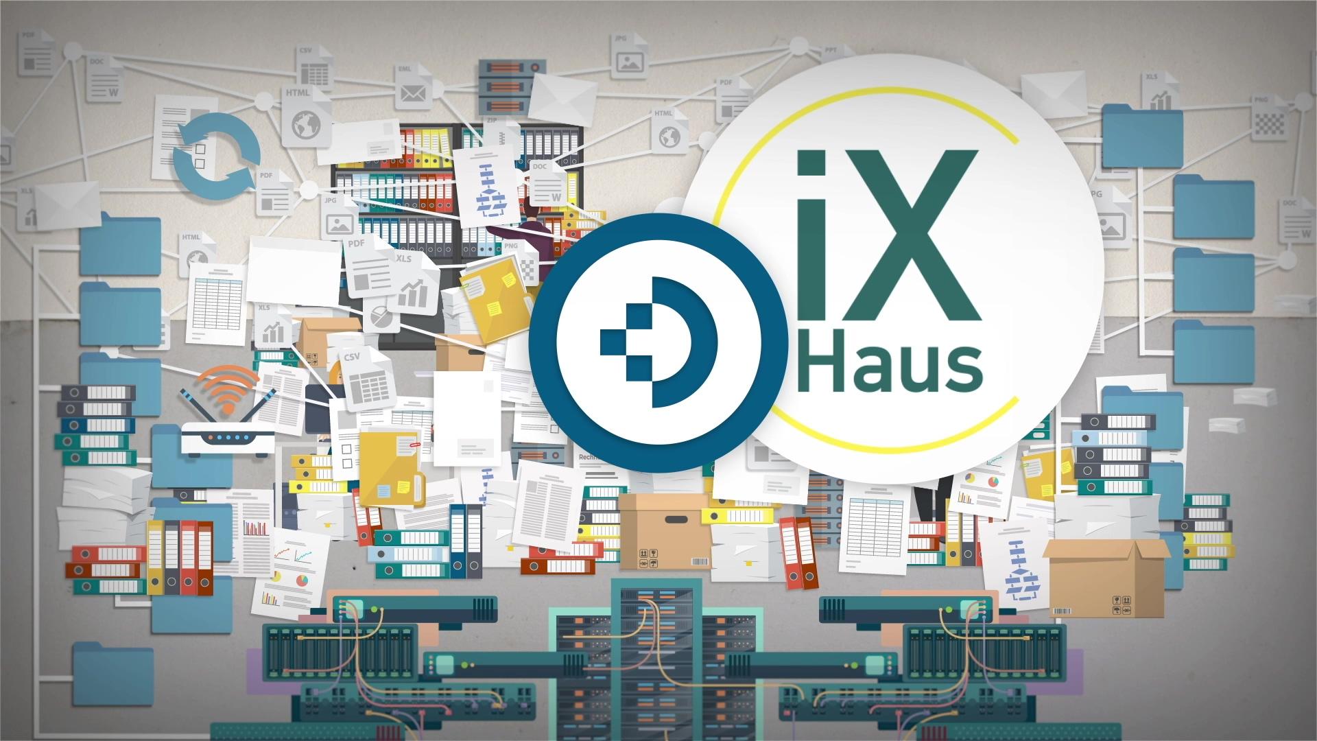 iX-Haus und DocuWare CREM 2021