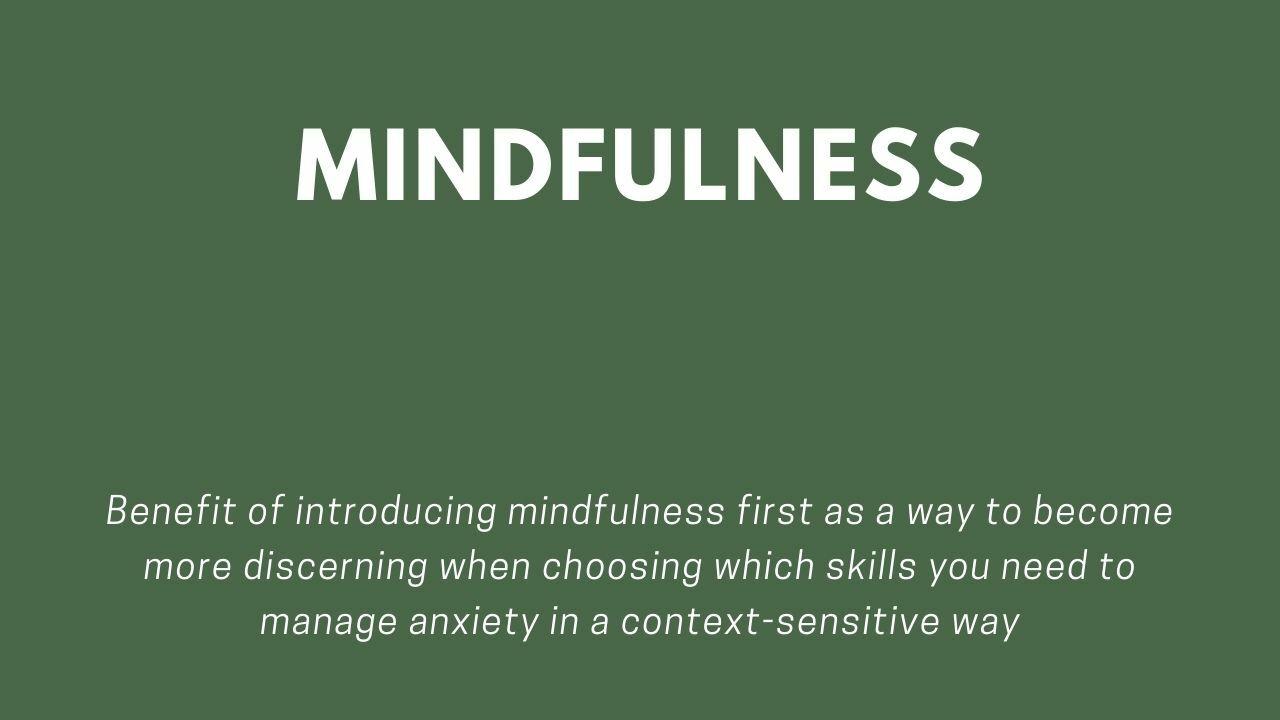 Mindfulness - done