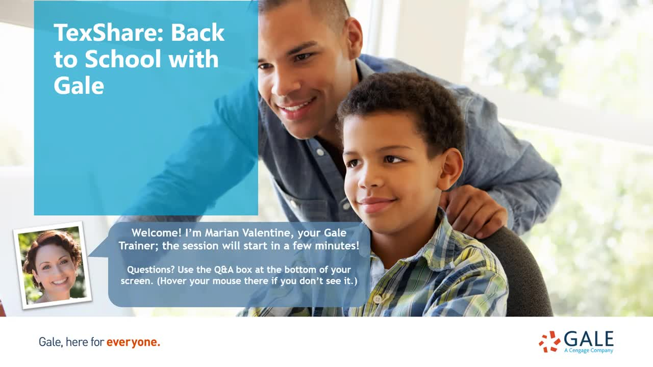 TexShare: Back to School with Gale Thumbnail