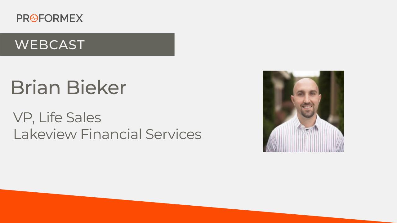 PROFORMEX Webcast - Brian Bieker 8-31-21